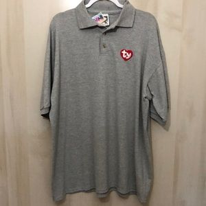 Choose 2 for $25 NWT TY Gear Polo Shirt, XL